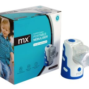 mx Portable Mesh Nebuliser available from Thoclor Labs